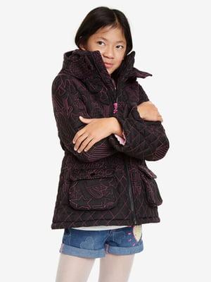 Куртка черная с вышивкой | 5162900