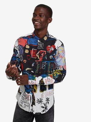 Рубашка в принт   5162922