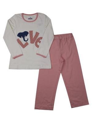 Пижама: лонгслив и брюки | 5168455