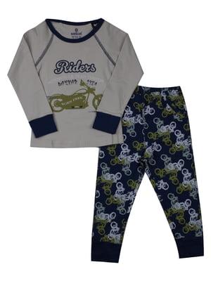 Пижама: лонгслив и брюки | 5168481