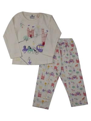 Пижама: лонгслив и брюки | 5168493