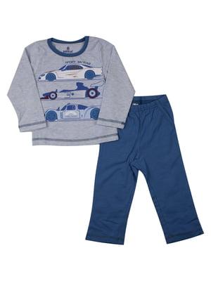 Пижама: лонгслив и брюки | 5168494