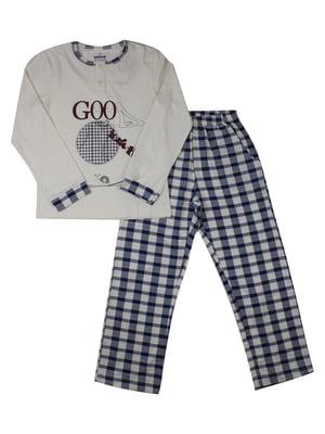Пижама: лонгслив и брюки | 5168452