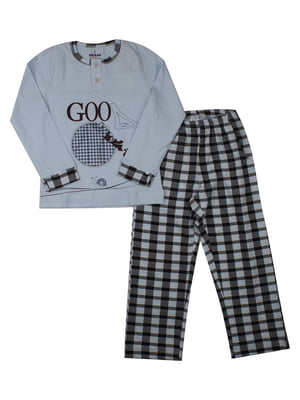 Пижама: лонгслив и брюки | 5168454