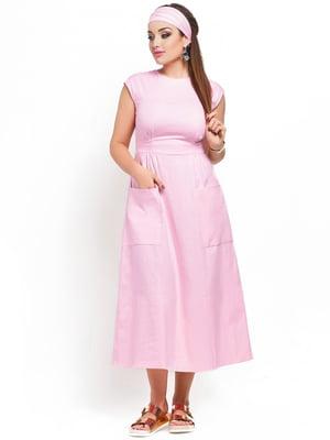 Сукня кольору пудри   3778386