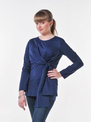 Блуза синяя | 4396065