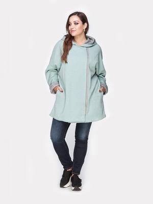 Пальто бірюзове | 4812797