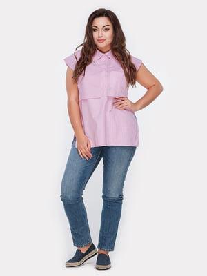 Блуза розовая | 5039491