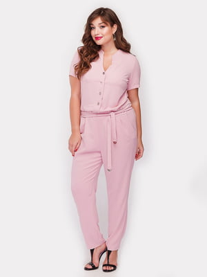 Комбинезон розовый | 5105094