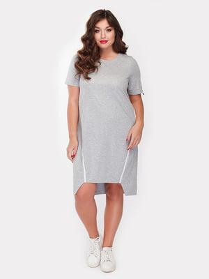 Платье серое | 5105106