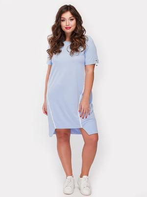 Платье голубое | 5105108