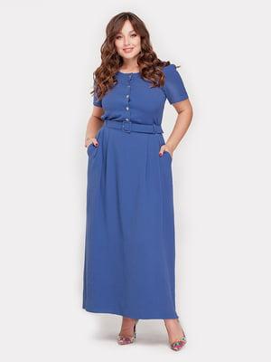 Платье джинсового цвета | 5115492