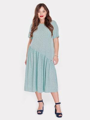 Сукня кольору шавлії | 5115498