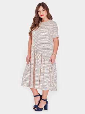 Сукня кольору пудри | 5115499