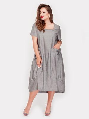 Платье серое - Peony - 5168674
