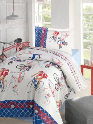 Комплект постельного белья полуторный   4857790