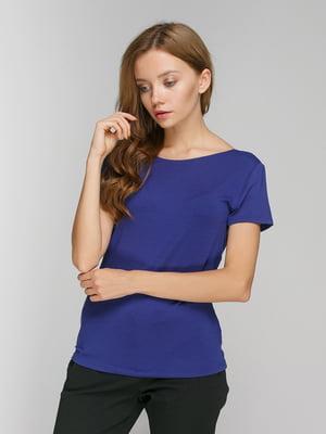 Блуза синяя | 3782822