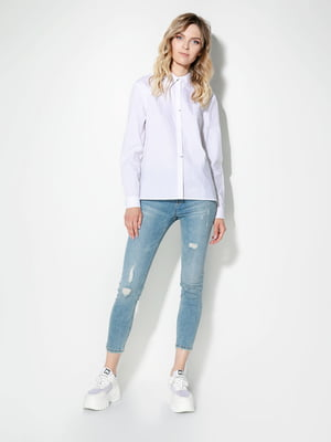 Рубашка белая | 5169373