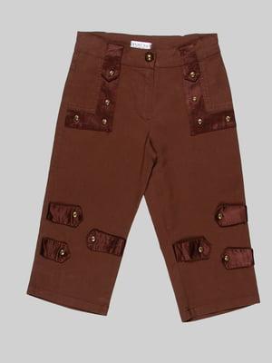 Капри коричневые | 2913296