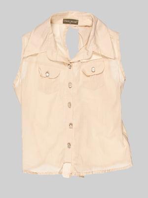 Блуза бежевая | 3168538