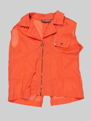 Блуза оранжевая | 1590260