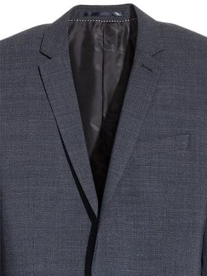 Пиджак шерстяной темно-синий | 5168951