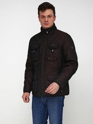 Куртка тмено-коричневая   5169052
