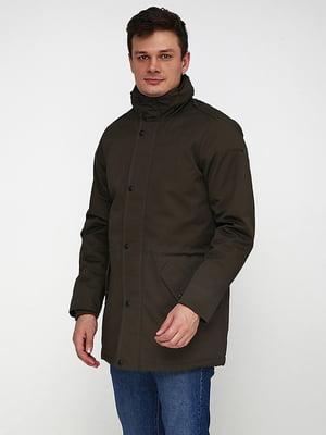 Куртка цвета хаки | 5169206