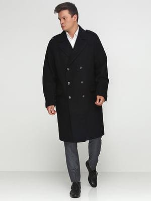 Пальто шерстяное черное | 5169207