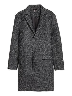 Пальто шерстяное серое | 5169257