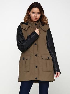 Куртка цвета хаки | 5169281