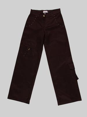 Брюки коричневые | 3879330