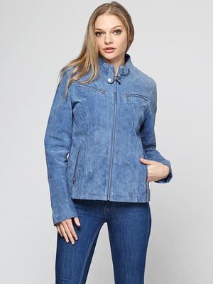 Куртка синя | 5168425
