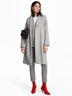 Пальто серое | 5168429
