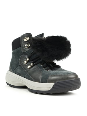 Ботинки серые | 5169427