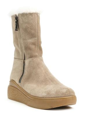 Ботинки бежевые | 5169426