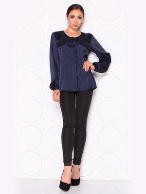 Блуза темно-синяя   5169869