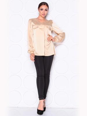 Блуза цвета мокко   5169870