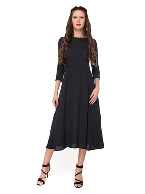 Платье черноее в принт | 5170246