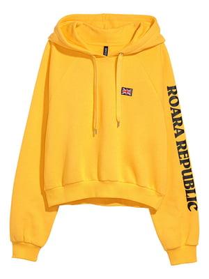 Худі жовта | 5171549