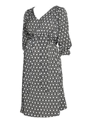 Платье черно-белое   5172141