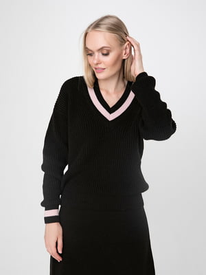 Пуловер чорний | 5173537