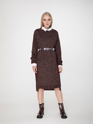 Сукня шоколадного кольору | 5173553