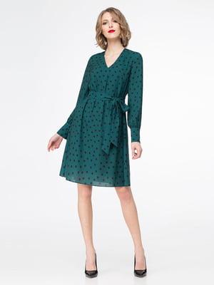 Платье изумрудного цвета | 5174328