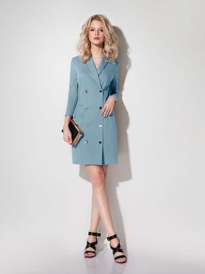 Платье голубое | 5174332