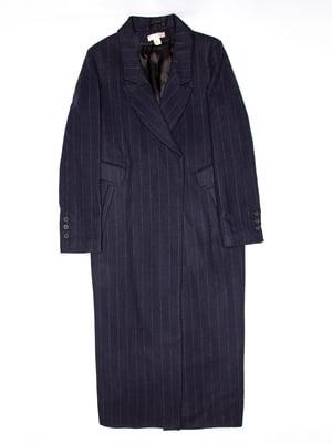 Пальто синее | 5113128