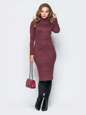 Платье бордовое | 5176787