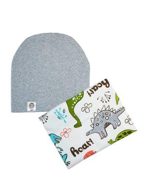 Комплект: шапка та шарф-снуд | 5177335