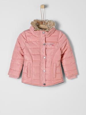 Куртка рожева | 5177111