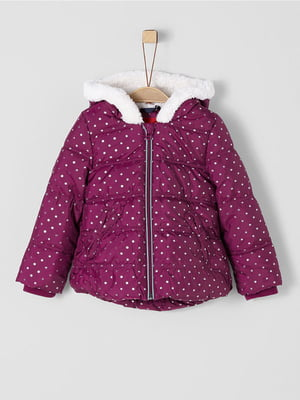 Куртка ягодного цвета | 5177113